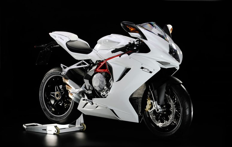 "F3 675 After being elected the ""most beautiful 600 in the world"" the MV Agusta is now ready to become the new reference both on the street and on the track. Asupersport that boasts a ultra-advance chassis and vehicle dynamics control that is o par with the most advanced superbike thanks to new system MVICS (Motor and Vehicle integrated control system)"